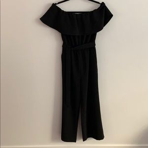 Ann Taylor Off-the-shoulder Cropped Jumpsuit